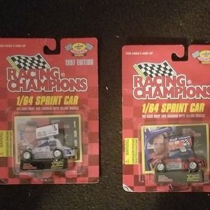 Nwt set of 2 racing championship cars